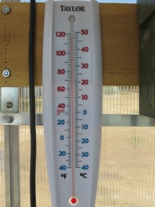 controlling greenhouse temps