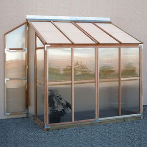 patio leanto greenhouse kit
