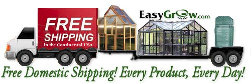 Easy Grow | Greenhouse Kits | Composters | Patio Gardening