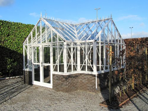 Antique Orangerie Glass Greenhouse