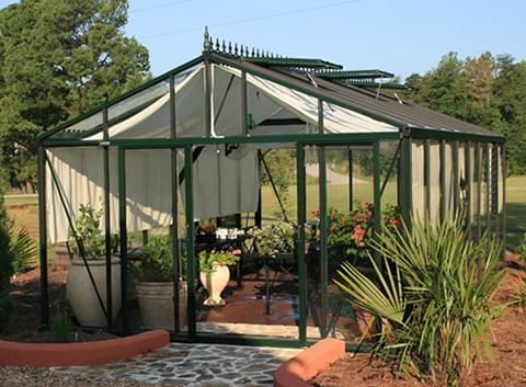 Victorian Vi46 Glass Greenhouse Kit