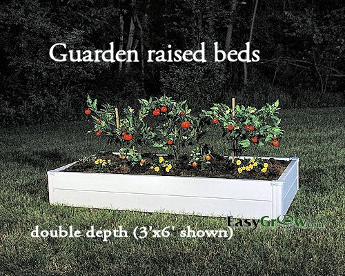 Guarden 2x4 Single Raised Bed