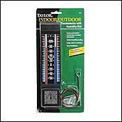 Juliana Indoor Outdoor Thermometer with Hygrometer