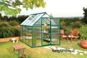 Mythos 6x6 Green Greenhouse