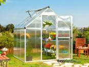 Mythos 6x6 Silver Greenhouse