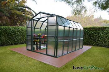 Grand Gardener 2 8x12 Greenhouse twinwall