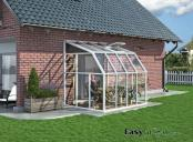 Lean-to 6x8 Sun Room 2 Clear Wall Greenhouse