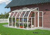 Lean-to 6x10 Sun Room 2 Clear Wall Greenhouse