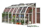 Lean-to 6x12 Sun Room 2 Clear Wall Greenhouse