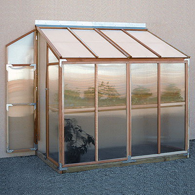 sunshine lean to greenhouse