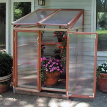 Sunshine patio garden greenhouse kit