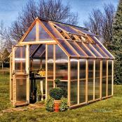 Mt. Rainier 8x12 Greenhouse
