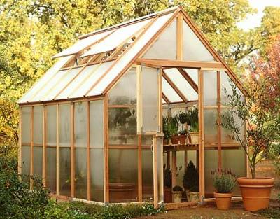 Sunshine Mt. Rainer greenhouse kit